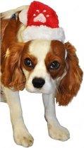 Kerstmuts Voor Hond/Kat - Dierenkleding - Rood/Wit