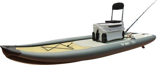 Stand Up Paddle voor vissers Aqua Marina opblaasbare SUP set