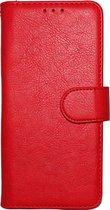Apple iPhone 7 & 8 Hoesje - Hoge Kwaliteit Portemonnee Book Case - Rood