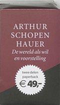 Boek cover De wereld als wil en voorstelling set van Arthur Schopenhauer (Paperback)