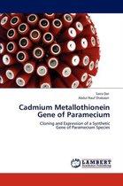 Cadmium Metallothionein Gene of Paramecium