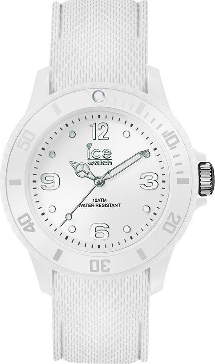 Ice-Watch IW014577 horloge dames - wit - kunststof - Ice-Watch