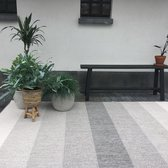 Buiten vloerkleed Boa - Zwart/Wit - EVA Interior 80 x 150 cm