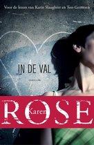 Boek cover In de val van Karen Rose (Onbekend)