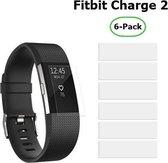 6 Stuks Beschermfolie voor Fitbit Charge 2