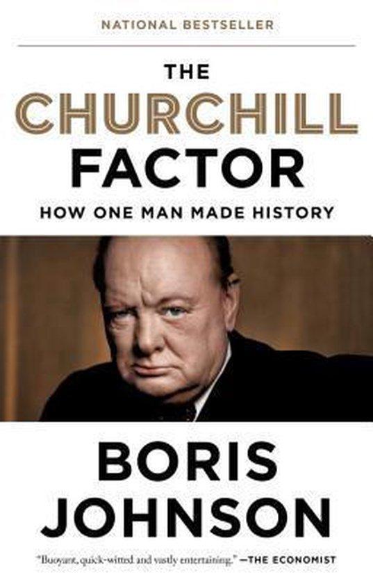 Boek cover The Churchill Factor van Boris Johnson (Paperback)