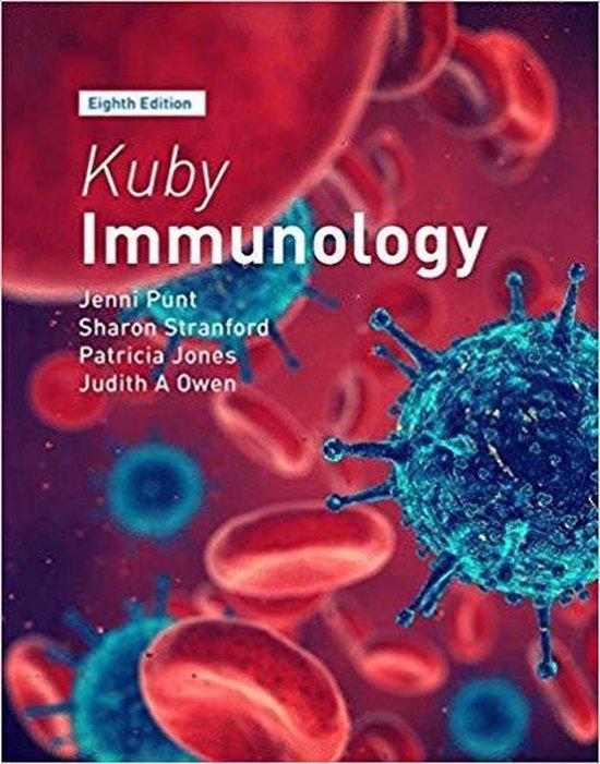 Boek cover Kuby Immunology van Jenni Punt (Paperback)