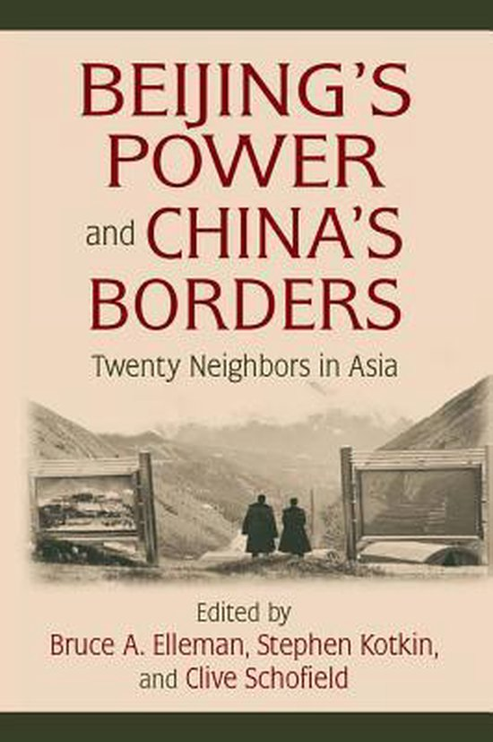 Boek cover Beijings Power and Chinas Borders van Bruce Elleman (Onbekend)