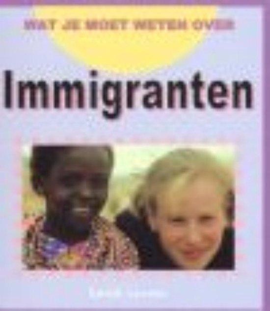 Boek cover Immigranten van Sarah Levete