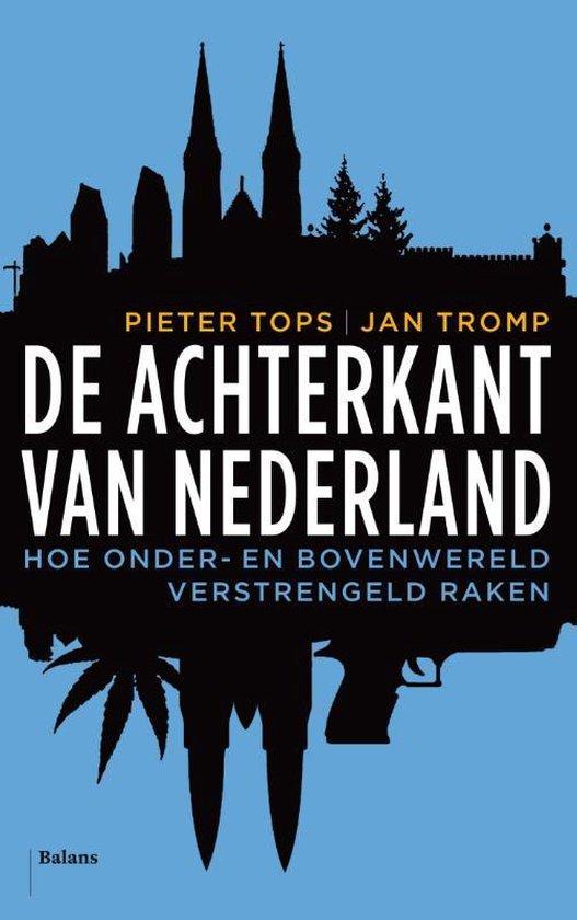 Boek cover De achterkant van Nederland van Jan Tromp (Paperback)