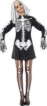 LUCIDA-CAMBODIA - Halloween skeletten kostuum voor dames - Volwassenen kostuums