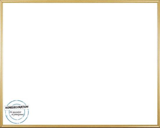 Homedecoration Easy – Fotolijst – Fotomaat 22x23 cm – Kunststof – Licht beuken