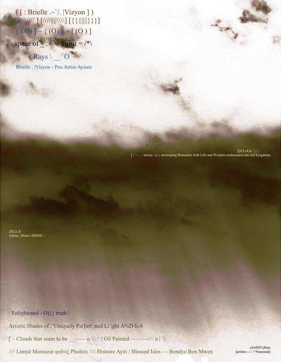 Boek cover Breille Vizyon — ( Rays \\ __ O ~ / Enligtened - O)} } truth \\ __ [artise—/ / /^Neuronal) van Ssaint-Jems (Onbekend)