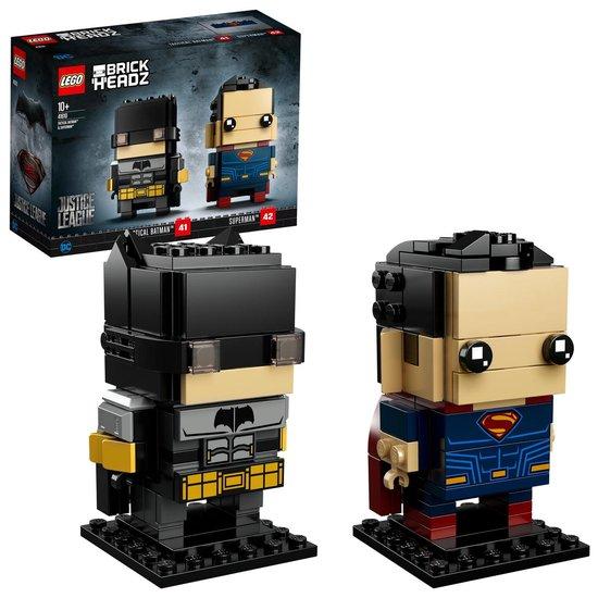 LEGO BrickHeadz Tactische Batman & Superman – 41610