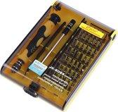 45-Delige Precisie Schroevendraaier Set - Met Pentalobe Torx Hex Bitjes / Bitset