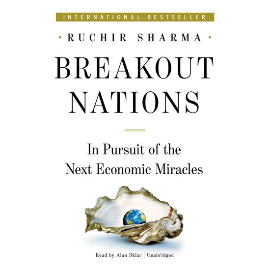 Boek cover Breakout Nations van Ruchir Sharma (Onbekend)
