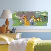 Muursticker Disney Lion Guard and Friends