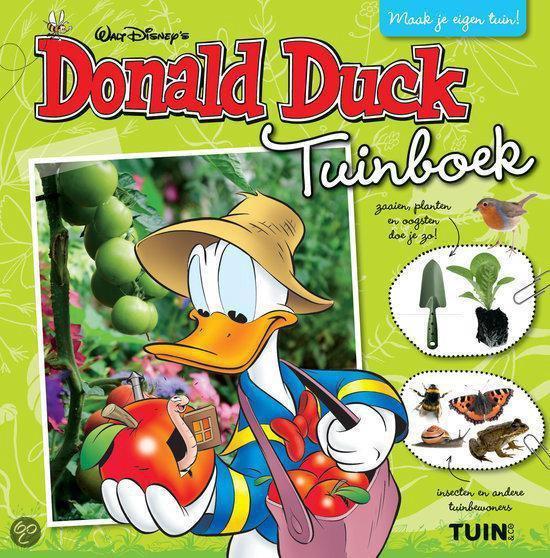 Donald Duck tuinboek - Walt Disney Studio's |