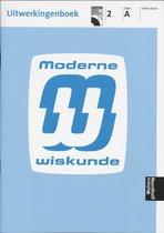 Boek cover Uitwerkingen 2a vmbo basis Moderne wiskunde van I. van Breugel