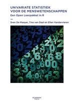 Univariate statistiek voor de menswetenschappen