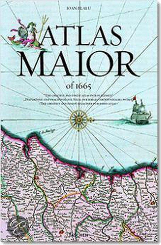 Boek cover Joan Blaeu, Atlas Maior Of 1665 van Joan Blaeu (Hardcover)