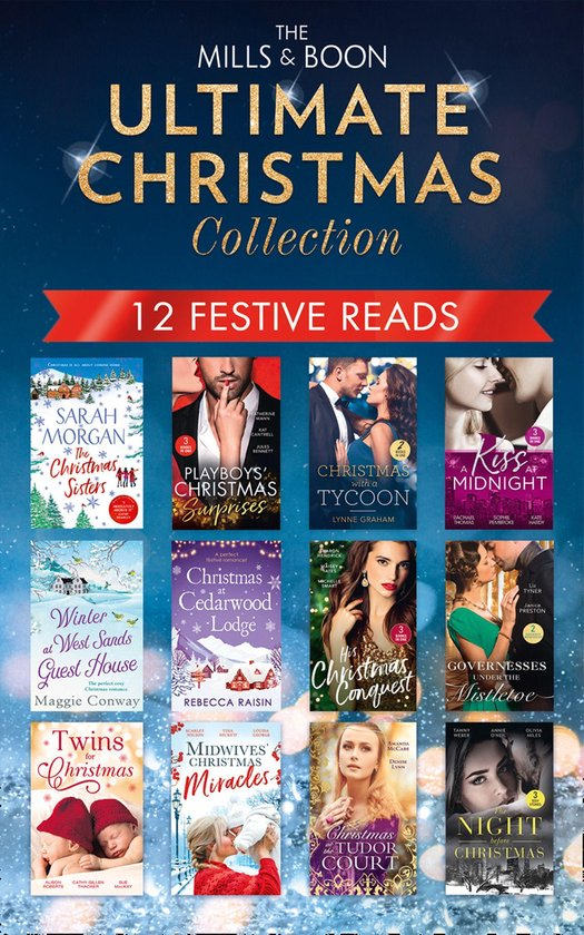 Boek cover The Mills & Boon Ultimate Christmas Collection van Rebecca Raisin (Onbekend)