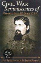 The Civil War Reminiscences Of General Basil W.Duke, C.S.A.
