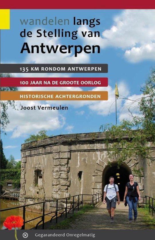 Cover van het boek 'Wandelen langs de stelling van Antwerpen'