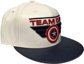 Captain America - Team Cap/Pet - Wit/Blauw