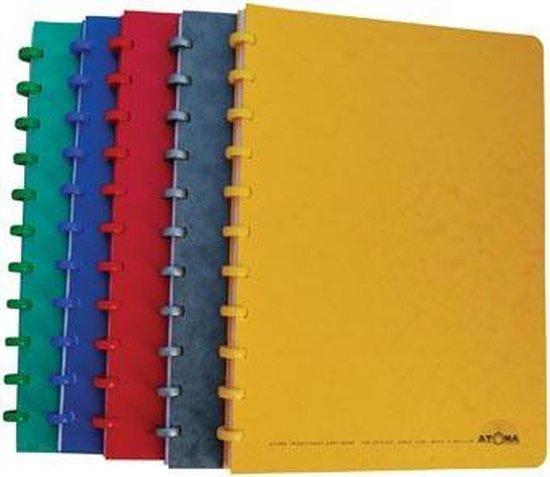 Afbeelding van Atoma patroonschrift formaat 21 x 29,7 cm (A4) 100 bladzijden gelijnd speelgoed