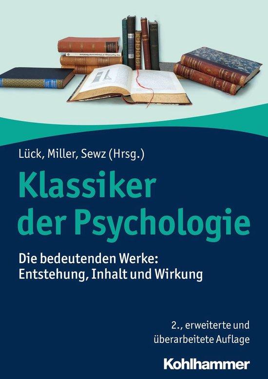 Boek cover Klassiker der Psychologie van Hermann Feuerhelm (Onbekend)