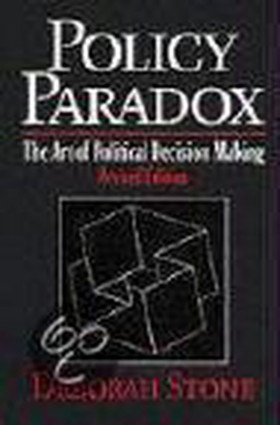 Boek cover Policy Paradox / the Art of Political Decision Making van Deborah Stone (Paperback)