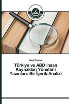 Turkiye Ve Abd Nsan Kaynaklar Yonetimi Yaz Nlar