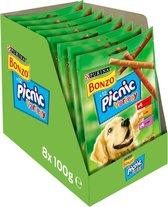 Bonzo Picnic Variety - Hondensnacks - 8 x 100g