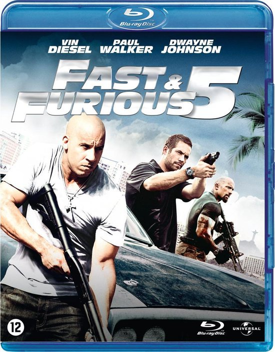 Cover van de film 'Fast & Furious 5'
