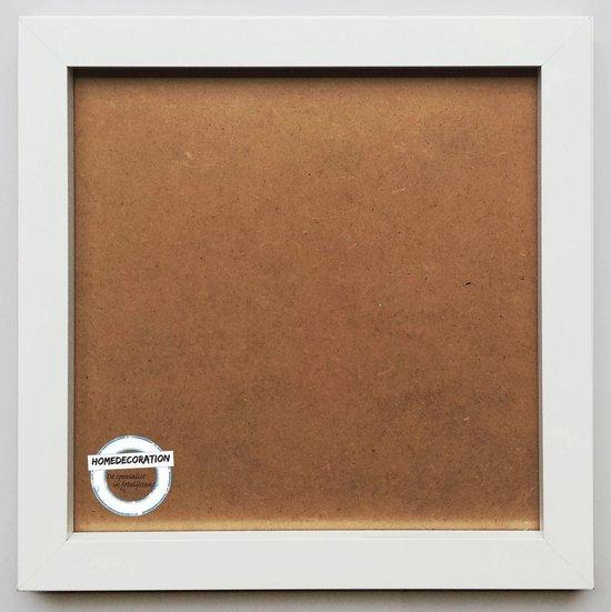 Homedecoration Victoria - Aluminium - fotolijst - Fotomaat - 72x109 cm - wit