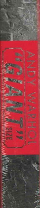 Boek cover Andy Warhol Giant Size van Steven Bluttal (Hardcover)