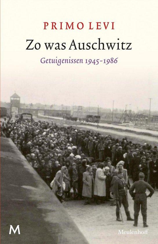 Boek cover Zo was Auschwitz van Primo Levi (Paperback)