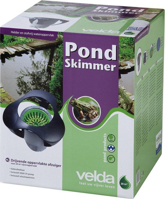 - Pond Skimmer - Vijverzuiger 2000 l/h - voor vijvers van 20 m²
