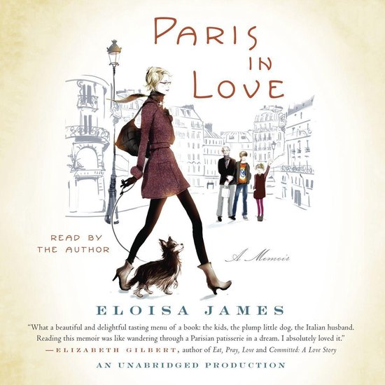 Boek cover Paris in Love van Eloisa James (Onbekend)