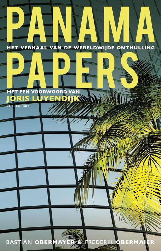 Boek cover Panama Papers van Bastian Obermayer (Paperback)
