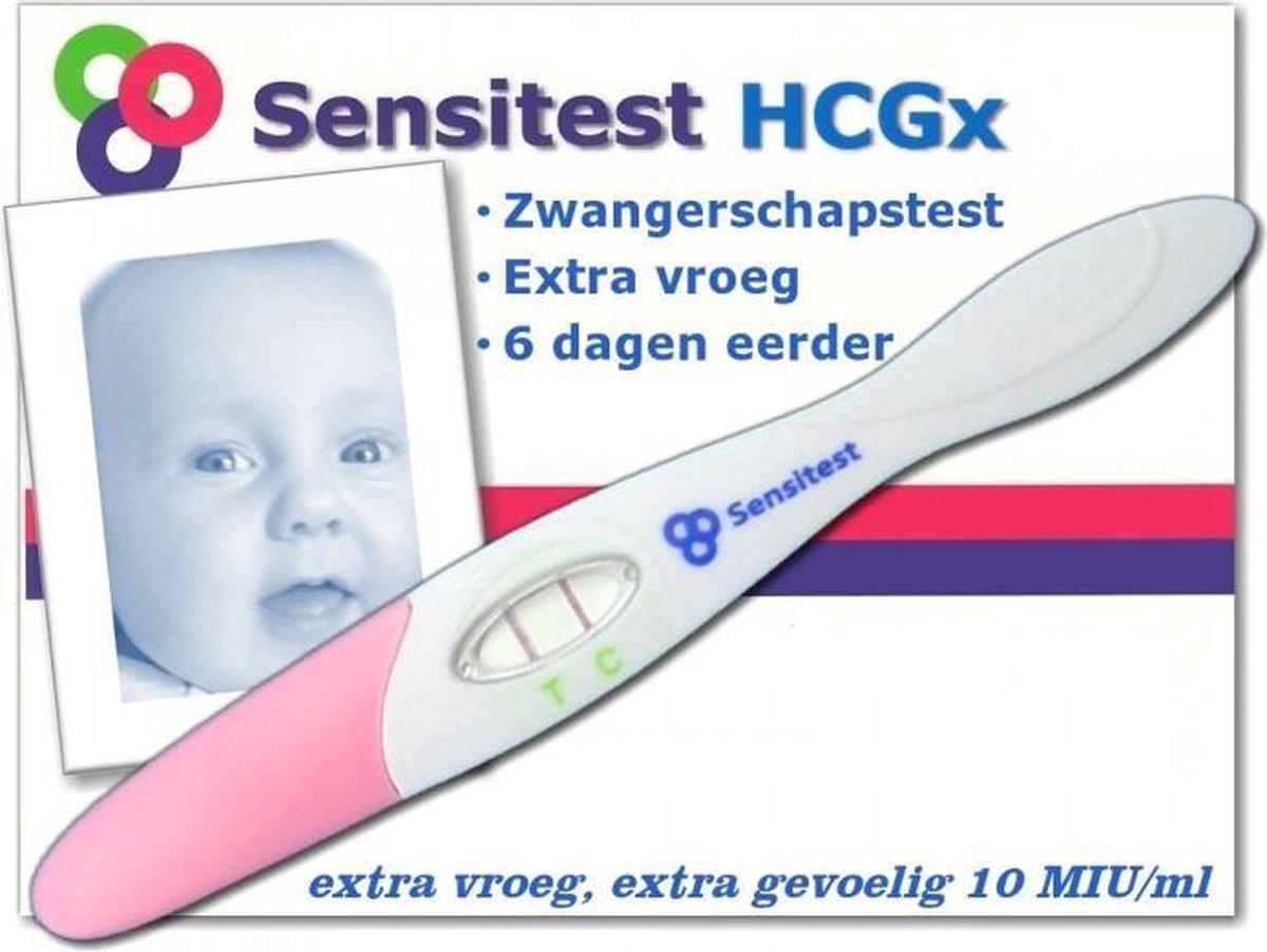 Sensitest zwangerschapstest midstream extra gevoelig 3 stuks - vanaf 6 dagen voor