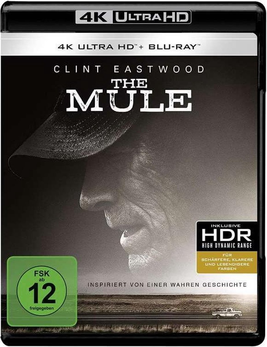 The Mule (2018) (Ultra HD Blu-ray & Blu-ray)-