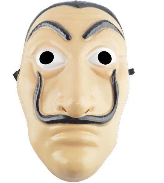 La Casa de Papel El Salvador Dali Masker - La Casa de Papel Masker - La Casa de Papel Kostuum