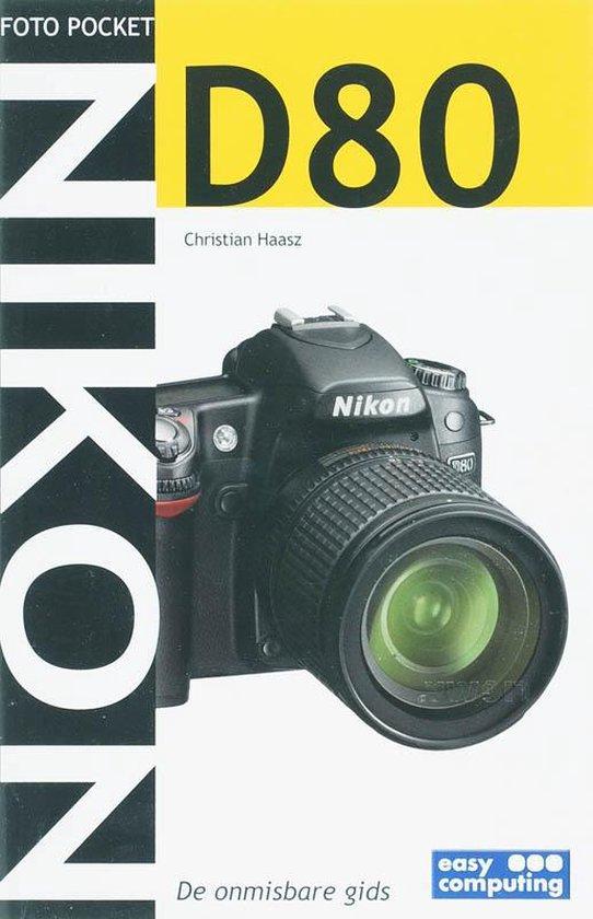 Cover van het boek 'Fotopocket NIKON D80'