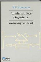 Boek cover Administratieve organisatie van M.C. Kamermans