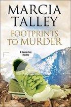 Omslag Footprints to Murder