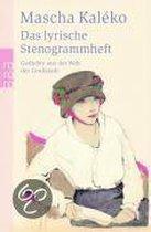 Boek cover Das Lyrische Stenogrammheft/Kleines Lesebuch Fur Grosse van Mascha Kaléko