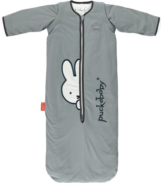 Product: Puckababy Babyslaapzak Bag 4 Seasons  6m-2,5j - 100cm - Miffy Sky, van het merk Puckababy