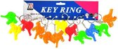 12 stuks vogelfluitjes sleutelhanger / uitdeelcadeautjes